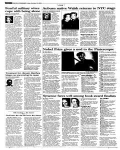 Syracuse Post Standard, October 14, 2005, Page 40