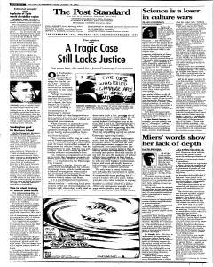 Syracuse Post Standard, October 14, 2005, Page 100