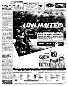 Syracuse Post Standard, October 14, 2005, Page 3