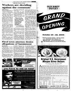 Syracuse Post Standard, October 14, 2005, Page 7