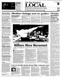 Syracuse Post Standard, October 14, 2005, Page 13