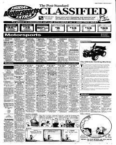 Syracuse Post Standard, October 14, 2005, Page 47