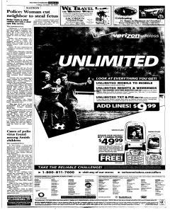 Syracuse Post Standard, October 14, 2005, Page 57
