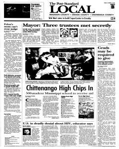 Syracuse Post Standard, October 14, 2005, Page 85