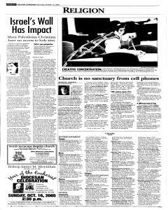 Syracuse Post Standard, October 15, 2005, Page 96