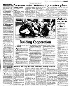 Syracuse Post Standard, October 15, 2005, p. 13