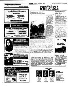 Syracuse Post Standard, October 17, 2005, Page 48