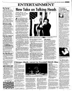 Syracuse Post Standard, October 17, 2005, Page 33