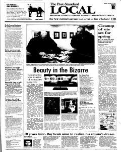 Syracuse Post Standard, October 17, 2005, Page 90
