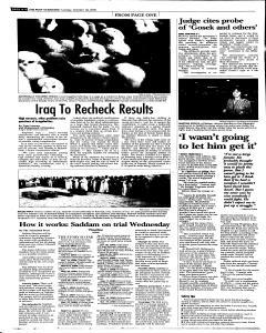 Syracuse Post Standard, October 18, 2005, Page 74