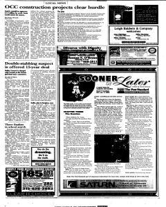 Syracuse Post Standard, October 18, 2005, Page 67