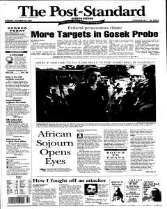 Syracuse Post Standard, October 18, 2005, Page 91