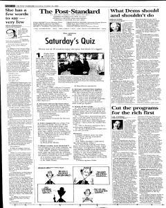 Syracuse Post Standard, October 22, 2005, Page 8
