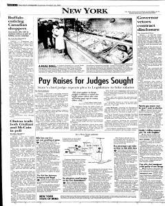 Syracuse Post Standard, October 22, 2005, Page 62