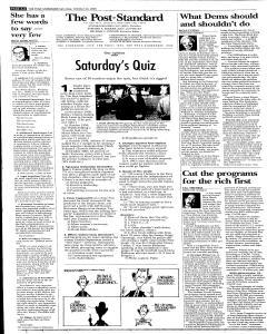 Syracuse Post Standard, October 22, 2005, Page 64