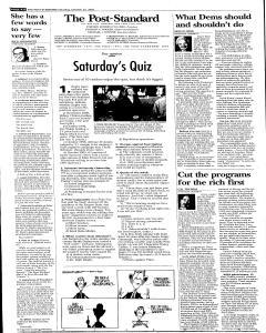 Syracuse Post Standard, October 22, 2005, Page 96