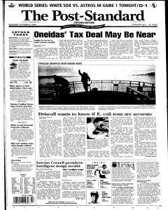 Syracuse Post Standard, October 22, 2005, Page 57