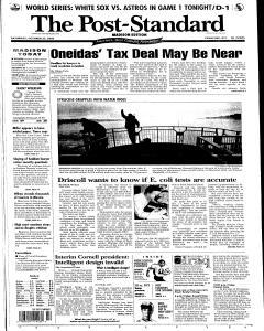 Syracuse Post Standard, October 22, 2005, Page 73