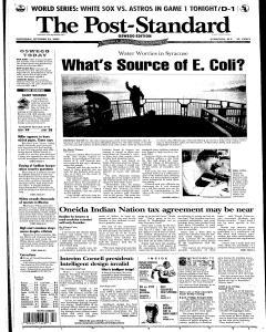 Syracuse Post Standard, October 22, 2005, Page 89