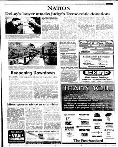 Syracuse Post Standard, October 22, 2005, Page 5