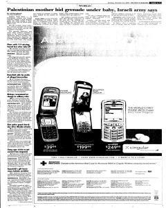 Syracuse Post Standard, October 23, 2005, Page 11