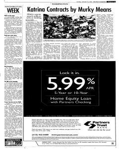 Syracuse Post Standard, October 23, 2005, Page 13
