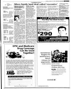 Syracuse Post Standard, October 23, 2005, Page 15