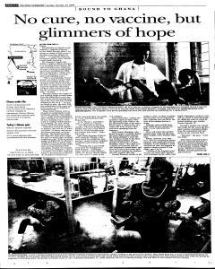 Syracuse Post Standard, October 25, 2005, Page 6