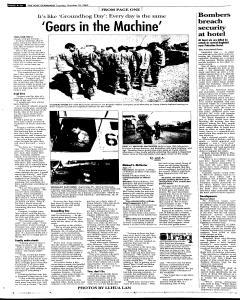 Syracuse Post Standard, October 25, 2005, Page 10