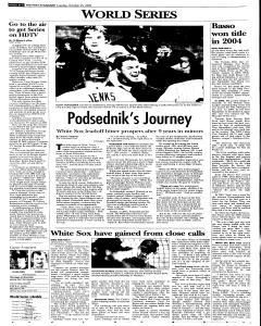 Syracuse Post Standard, October 25, 2005, Page 30