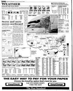 Syracuse Post Standard, October 25, 2005, Page 32
