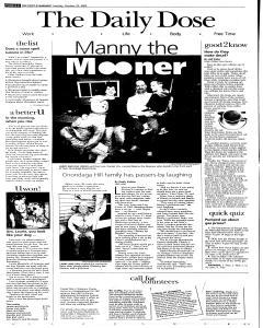 Syracuse Post Standard, October 25, 2005, Page 40