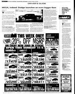 Syracuse Post Standard, October 25, 2005, Page 52