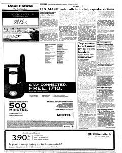 Syracuse Post Standard, October 25, 2005, Page 70