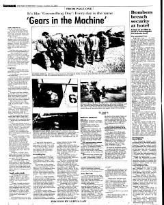 Syracuse Post Standard, October 25, 2005, Page 72