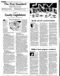 Syracuse Post Standard, October 25, 2005, Page 76