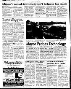 Syracuse Post Standard, October 25, 2005, Page 80