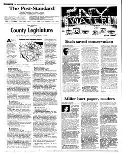 Syracuse Post Standard, October 25, 2005, Page 98