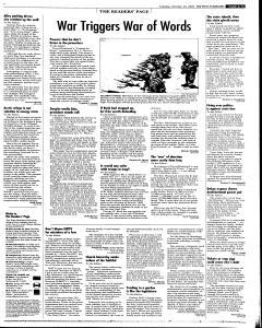 Syracuse Post Standard, October 25, 2005, Page 15