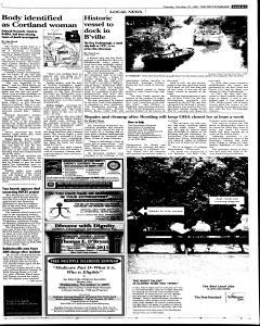 Syracuse Post Standard, October 25, 2005, Page 19