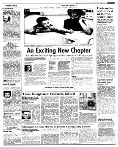 Syracuse Post Standard, October 25, 2005, Page 21
