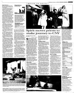Syracuse Post Standard, October 25, 2005, Page 69