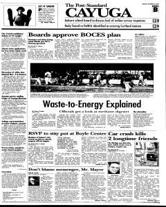 Syracuse Post Standard, October 25, 2005, Page 79