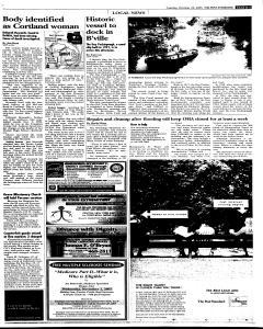 Syracuse Post Standard, October 25, 2005, Page 81