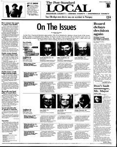 Syracuse Post Standard, October 25, 2005, Page 101