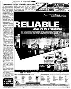 Syracuse Post Standard, October 25, 2005, Page 109