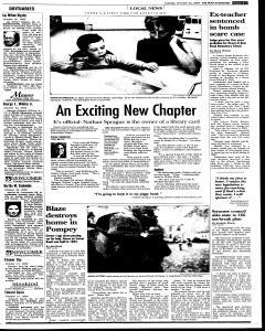 Syracuse Post Standard, October 25, 2005, Page 127