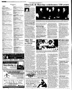 Syracuse Post Standard, October 26, 2005, Page 40
