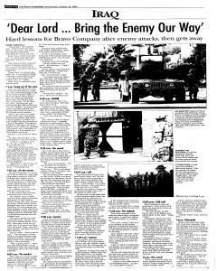 Syracuse Post Standard, October 26, 2005, Page 82