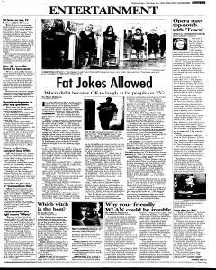 Syracuse Post Standard, October 26, 2005, Page 39